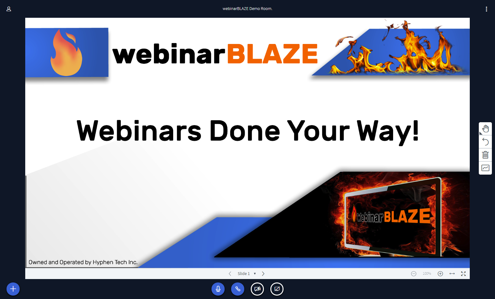 webinarBLAZE the last webinar service you'll ever need.